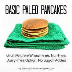 Basic Paleo Pancakes