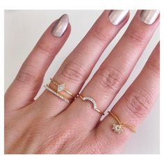 One of our most unique pieces in the collection, we love how this moonstone and diamond ring sits on your finger. Looks fabulous worn alone or stacked with othe