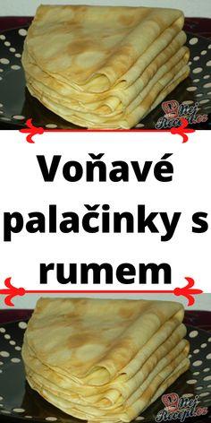 Czech Recipes, Sweet Desserts, Rum, Kuchen, Rome