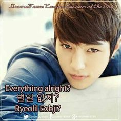 Everything alright? Learn just how to ask someone this very question with the help of L! ^^