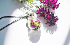 Blüten und Moos Tropfen Waldzauber von flowerring  auf DaWanda.com