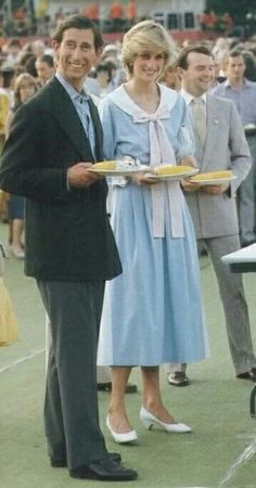 Diana and Charles.