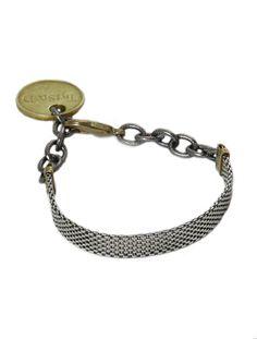 Trendy Jewelry | Twisted Silver | Celebrity Jewelry | Funky Jewelry - Checkers bracelet