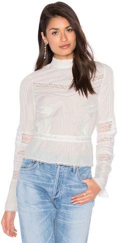 High Collar Blouse