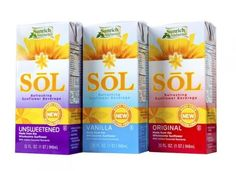 Sunflowers and flax milked as latest non-dairy alternatives