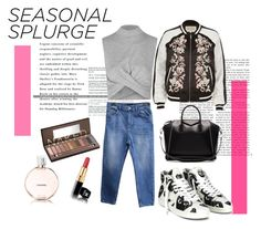 """""""seasonal spulrge"""" by silencejune on Polyvore featuring Topshop, River Island, Urban Outfitters, Givenchy, Urban Decay and Chanel"""