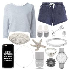 """""""grey"""" by reeseowens on Polyvore featuring Gaëlle Bonheur, New Look, Victoria's Secret, Casetify, Amanda Rose Collection, Shop Latitude Bazaar, Nails Inc., Michael Kors, Myia Bonner and Topshop"""