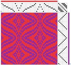 a knit and crochet community Bargello Patterns, Bargello Quilts, Weaving Patterns, Mosaic Patterns, Pattern Art, Crochet Patterns, Paper Weaving, Weaving Art, Loom Weaving