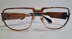 True Vintage Bronze Nautic Neostyle 130 Elvis Presley Stamp Eyeglasses  #NauticNeostyle