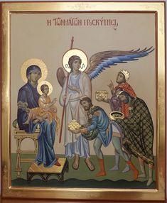 Risultati immagini per icona adorazionedei magi Religious Images, Religious Icons, Religious Art, Byzantine Icons, Byzantine Art, Christian Images, Christian Art, Catholic Art, Catholic Saints