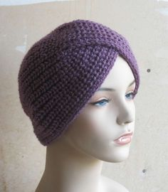 Crochet Pattern Turban Hat : 1000+ images about Yarn Turban on Pinterest Turbans ...