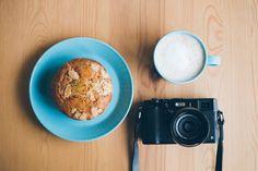Coffee, Muffin and X100S #x100s #kermit71 #coffee #muffin #iittala