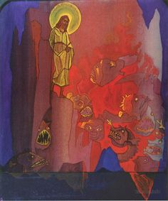 Nicholas Roerich, Descent into Hell