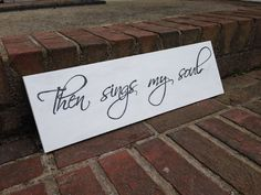 Shabby Chic Then Sings My Soul HandPainted by RaindropsOnRosesB, $24.00
