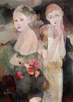 Françoise de Felice è nata a Parigi da padre italiano e madre francese e a Parigi ha trascorso i suoi primi 20 anni . Da bambina ...