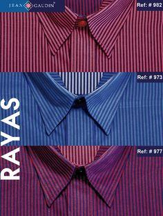 las camisas de rayas son perfectas para looks casuales o semi-formales, mientras mas finas, mas formales llegan a ser. #Modamasculina #hombresconestilo #Moda #Fashion #diseño #outfit #camisas #shirts #Manizales #Tiendaonline