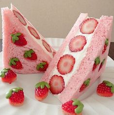 Pretty Birthday Cakes, Pretty Cakes, Cute Cakes, Cute Baking, Pink Foods, Cute Desserts, Disney Desserts, Pink Desserts, Dessert Recipes