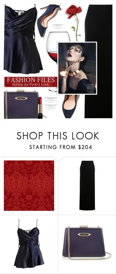 """""""Hot Date Night Style"""" by monazor ❤ liked on Polyvore featuring Timorous Beasties, Tom Ford, Diane Von Furstenberg, Lanvin and Lancôme"""