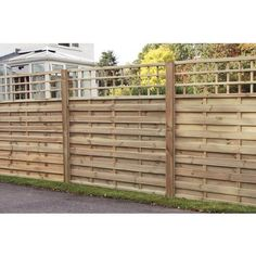 Wickes Hertford Fence Panel x Integrated Trellis - paint white?