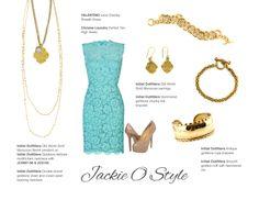 Get the Look!  Jackie O'Style  Follow me on FB:  www.facebook.com/kellisinitialoutfitters  or Shop Online at www.initialoutfitters.net/ktillman