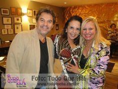 """Luxuosas   Maria Emília e a """"Rainha da Noite """" paulistana Lilian Gonçalves,"""
