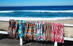 This Anti-Sand Towel Is a Must for Your Next Beach Trip | It's alsolightweight and super absorbent.