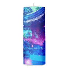 Serenity Garden Pillar Candle