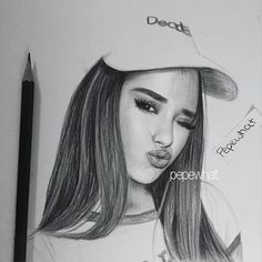 30 min sketch!  Hope y'all like it  Follow me on Snapchat for updates  #ariana #grande #arianagrande