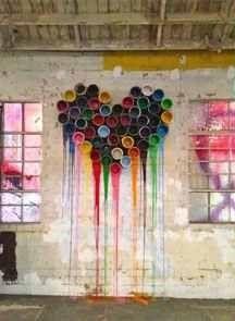 Image detail for -. chickens escaped from colonel sanders or… – Graffiti World Graffiti Art, Heart Graffiti, Banksy Art, Art Mural, Heart Art, Paint Cans, Public Art, Urban Art, Oeuvre D'art