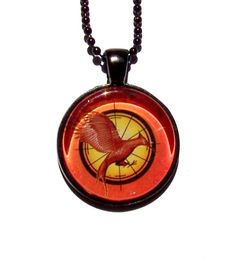 The Hunger Games - Catching Fire Necklace