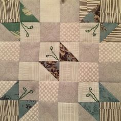 The Splendid Sampler. Bird Quilt Blocks, Quilt Block Patterns, Easy Quilts, Mini Quilts, Quilting Projects, Quilting Designs, Butterfly Quilt Pattern, Cot Quilt, Sampler Quilts