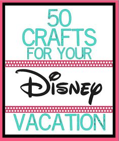 Crafting in the Rain: 50 Disney Crafts, not going to Disney for a while, but I love me some Mickey mouse.