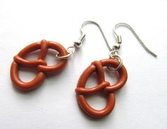 I have some brown polymer clay laying around.  Need to do this for Oktoberfest this year!