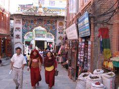 Ancient & modern mix on the streets of Katmandu. www.jeffreyrasley.com