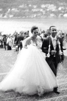 Supermodel Chrissy Teigen & R&B singer John Legend wed in Sept. 2013, but were just getting a glimpse thanks to Martha Stewart Weddings.