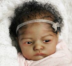 Reborn Saige ~ AA A/A Biracial Latina Ethnic Scholl by Brooke Nicole Black Baby Dolls, Real Baby Dolls, Realistic Baby Dolls, Reborn Baby Dolls, Beautiful Babies, Beautiful Dolls, Biracial Babies, Sweet Dreams Baby, Reborn Nursery