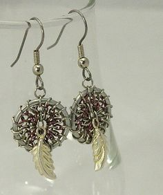 Chainmaille Dreamcatcher Earrings
