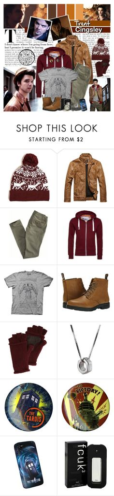 """""""It won't be boring."""" by michi-bruce ❤ liked on Polyvore featuring 21 Men, American Eagle Outfitters, Superdry, Ripple Junction, Blundstone, Original Penguin, Edge Only, Hot Topic, French Connection and men's fashion"""