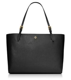 Tory Burch YORK BUCKLE TOTE - I gotta get this bag this fall. It is a definite must have for my collection. Work Tote, Work Bags, Sacs Design, Laptop Bag For Women, Laptop Tote, Designer Totes, Designer Purses, My Collection, Tory Burch Bag