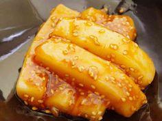 お餅のトッポギ風甘辛炒めの画像