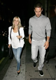 Jamie Redknapp/ I love her outfit