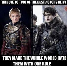 Joffrey or Ramsay? Check out our Game of Thrones Merch Store: https://thinkgot.com    #winteriscoming #gameofthrones #GoT #gameofthronesfamily #jonsnow #instalike #f4f #like #gameofthroneshbo #gameofthronesfan #gameofthronesmemes #westeros #got7 #khaleesi #housestark #nightswatch #youknownothingjonsnow #asongoficeandfire #stark #lannister #daenerystargaryen #targaryen #daenerys #sansastark #tyrionlannister #motherofdragons #housestark #winterfell #jaimelannister