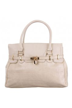 Cindy Belt Tote in IVORY #3863 - colette by colette hayman $49.95