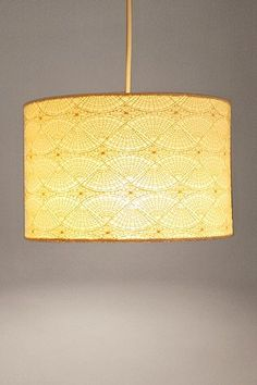 Embroidered Pendant Shade $49