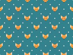 SO in love with this Fox pattern