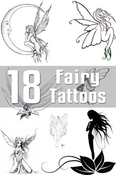 18 Fairy Tattoo Designs | The Body is a Canvas