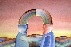 """""""...sem sair do seu mundo você não vai conseguir se colocar no lugar do outro e vai acabar vivendo sem que ninguém faça isso por você quando precisar. Enxergamos o mundo da posição na qual nos encontramos e, se não nos movimentarmos em outra direção, vamos morrer com essa visão egoísta e parcial."""""""