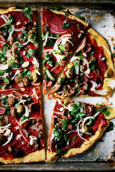 Gluten-Free Pizza Crust + Pizza Puttanesca + Why I Cook Gluten-Free