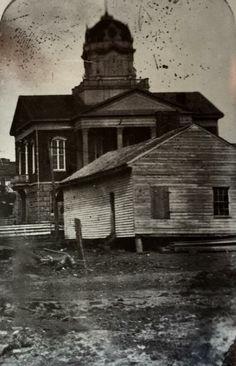 White county courthouse circa 1869 Arkansas