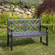 POLYWOOD Chippendale 48 In. Bench sports the classic chippendale design. - (more below)   $789.00